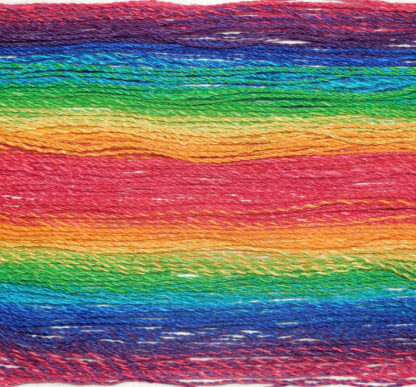 Handspun yarn - Reflected rainbow4 - DSCN3388-1-c