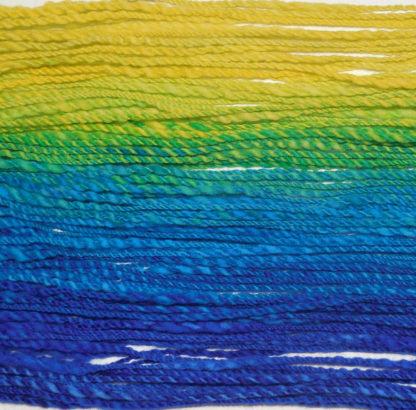 Handspun yarn - Lemon to deep blue4 - DSCN3403-1-c