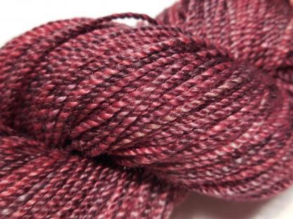 Handspun yarn - Shining batterfly3 - DSCN3616-1-c