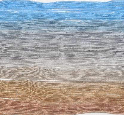 Handspun yarn - Sand, silver and sky4 - DSCN3903-1-c