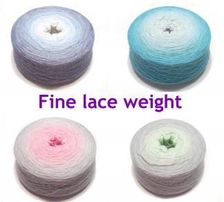 Fine lace weight