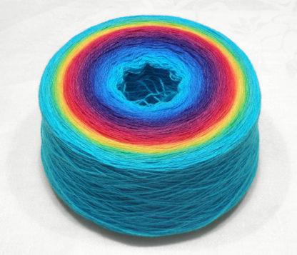 Garnet – Rainbow Blue Edge