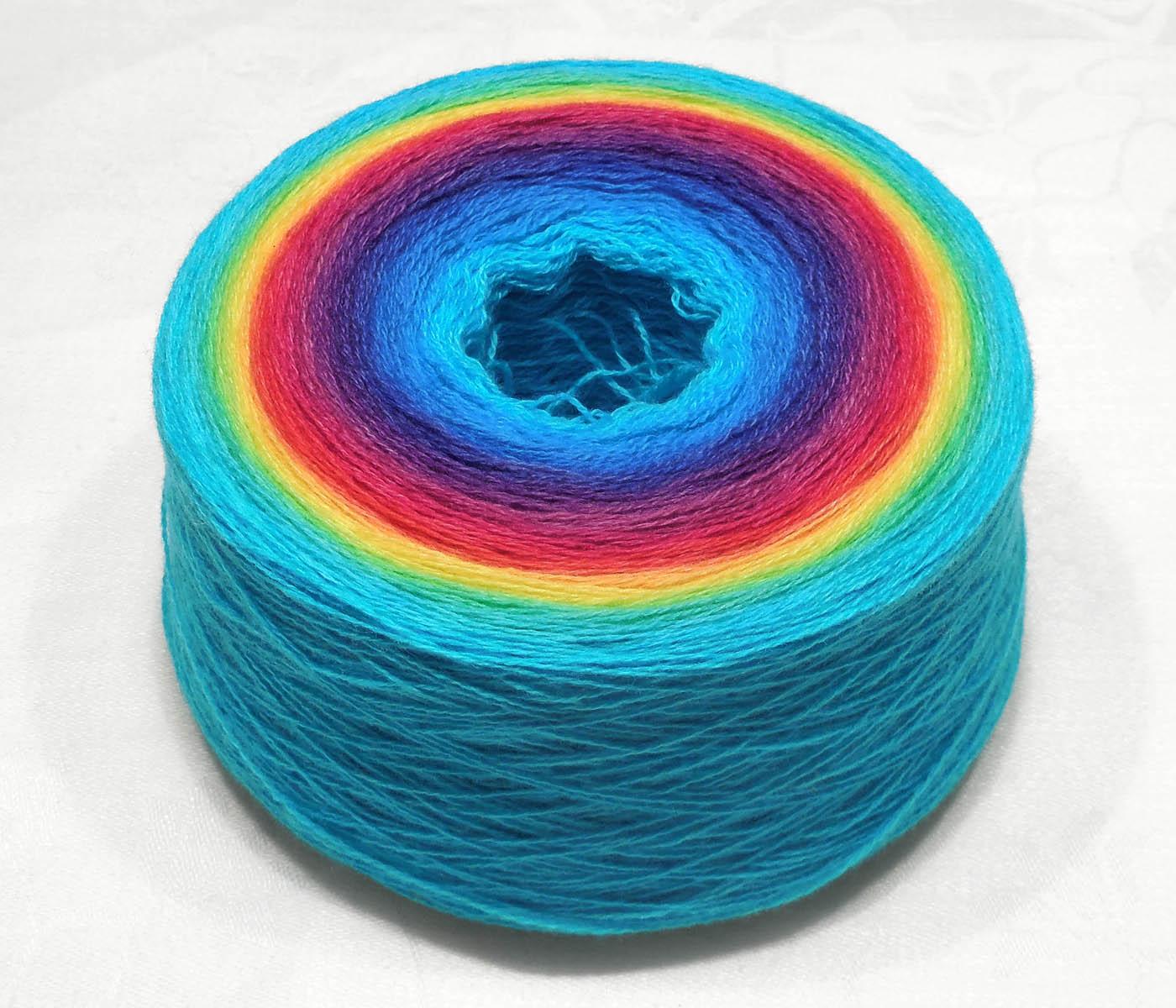 Garnet – Cashmere merino fine lace weight hand dyed yarn