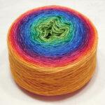 Siberian Pearl 400 – Rainbow Yellow Edge